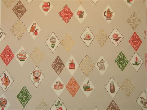 Retro Kitchen Wallpaper by Vintage Wallpaper For Your 50s Kitchen And Bath Another