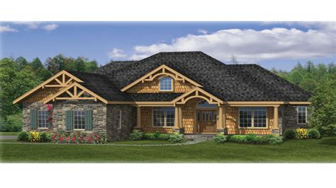 Ranch Home Plan by Craftsman Ranch House Plans Craftsman House Plans Ranch