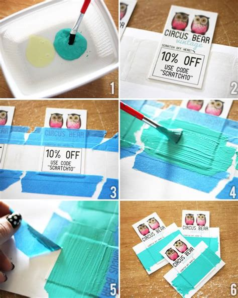 How To Make Scratch Paper With Acrylic Paint - 17 best images about detective on