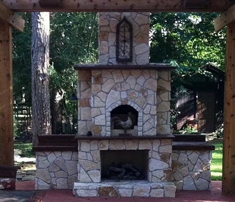 Fireplace And Pizza Oven by Oven Using Heat Vented In From Fireplace Below