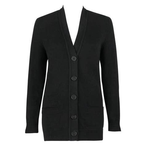 Sweater Urgan 38 Original Termurah Se hermes black scottish boyfriend cut button front cardigan sweater 38 for sale at 1stdibs
