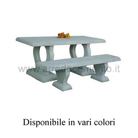 tavoli da giardino in pietra tavoli in pietra da esterno cm175x80x75h nei vari colori
