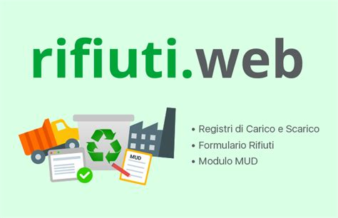 software gestione web software gestione rifiuti formulario carico scarico mud