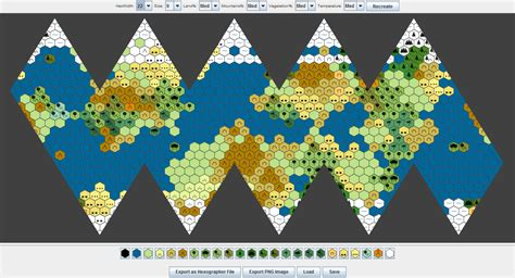 map generator icosahedral world map generator inkwell ideas