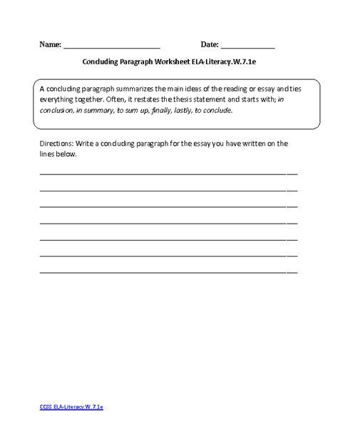 printable writing worksheets 7th grade 7th grade writing worksheets worksheets releaseboard