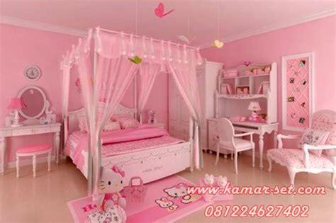 Ranjang Helo Kity desain kamar tidur hello kity harga tempat tidur hello