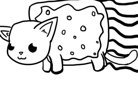 coloring pages of nyan cat free nyan cat coloring pages