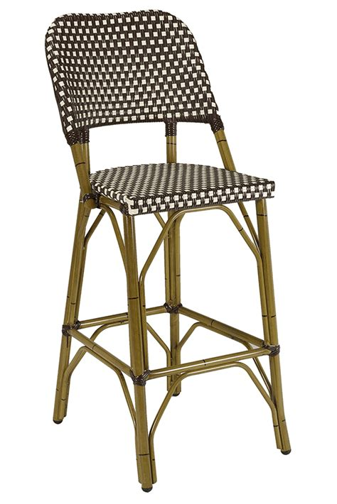 Florida Seating Outdoor Bar Stools by Florida Seating Commercial Aluminum Outdoor Restaurant Bar