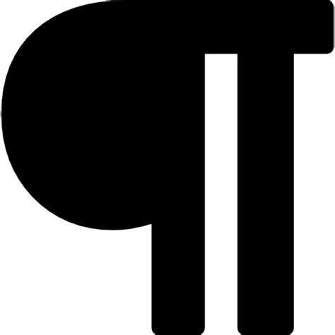 section break symbol line break symbol icons free download