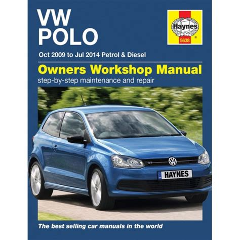 vw polo 2009 2014 haynes publishing haynes workshop manual vw polo 2009 2014