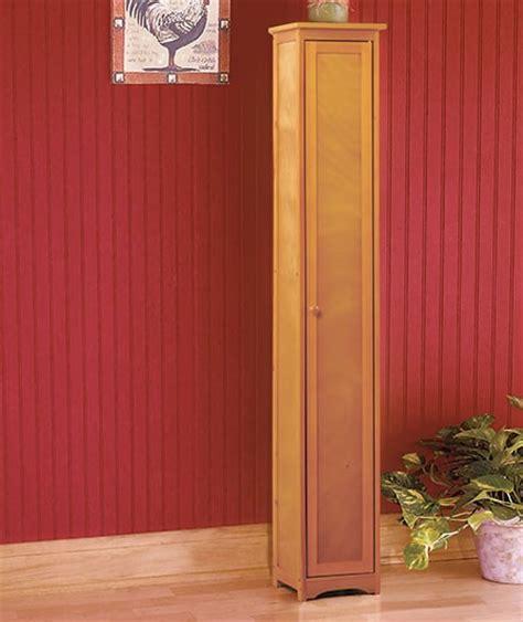 Slimline Pantry Cupboard New Slimline Ultra Slim Sleek Cedar Wood Pantry Cabinet