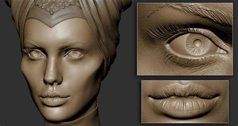 zbrush tutorial realistic face 264 best zbrush artists images on pinterest modeling