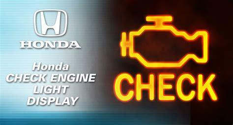 no check engine light honda check engine light whatuld be the autocars blog