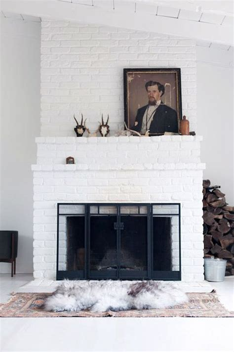 fireplace trends trend for 2017 painted brick studio mcgee