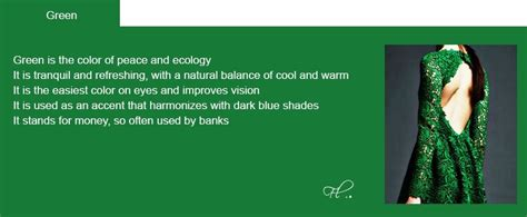 color psychology green color psychology significance of color in fashion