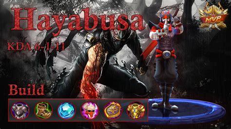 Mobile Legend Hayabusa The Blues mobile legends hayabusa mvp top ranked hayabusa build