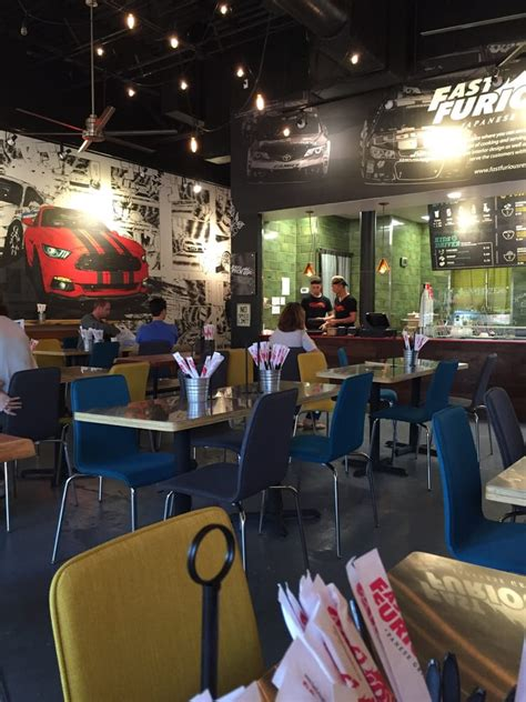 fast and furious japanese grill it s very spacious great for big group gatherings yelp
