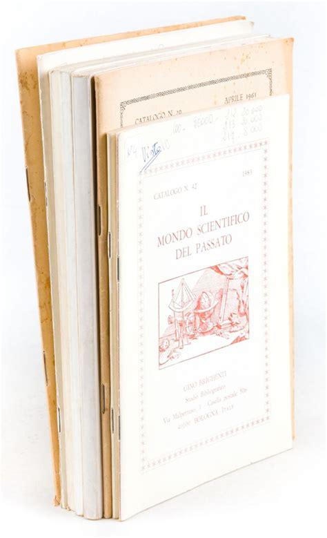 libreria antiquaria bologna brighenti libreria antiquaria bologna lotto di 8 catalog