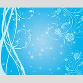 Free Swirly Blue Stars Vector Background | Free Vector Graphics | All ...
