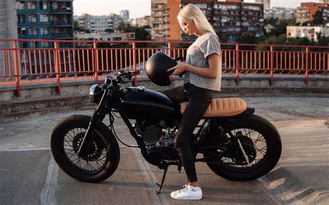 Indian Motorrad Helm by Fotos Blondine Helm Motorrad M 228 Dchens Motorradfahrer 3840x2400
