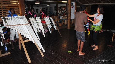 Kitchen Band by Uepi Island Resort The Solomon S Friendliest Dive Resort