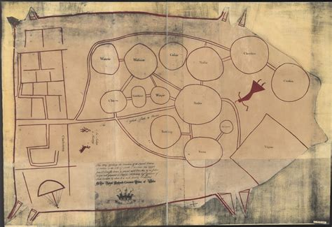 american tribes south carolina map the catawba indians though a war like nation were