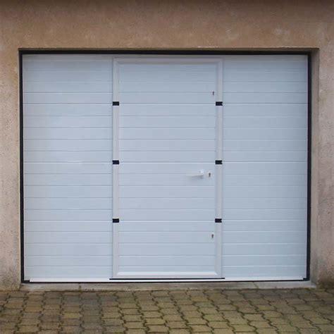 Porte Garage Avec Portillon 4047 by Porte De Garage Sectionnelle Avec Portillon Porte