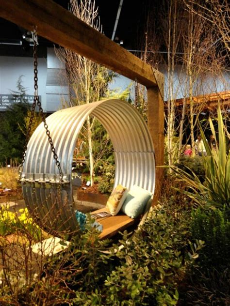 garden swing 10 diy garden swings that unite and function diy