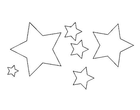 dibujos para colorear de estrellas y corazones imagui dibujo de 6 estrellas para colorear dibujos net