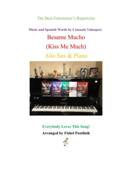 besame mucho piano cover quot besame mucho quot me much for alto sax and