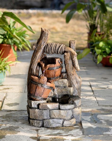 Outdoor Decor Garden Fountains Rock Garden Waterfall Outdoor Decor Garden Fountains Small Chsbahrain