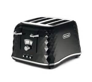 4 Slice Black Toaster Buy Delonghi Brillante Ctj4003 Bk 4 Slice Toaster Black