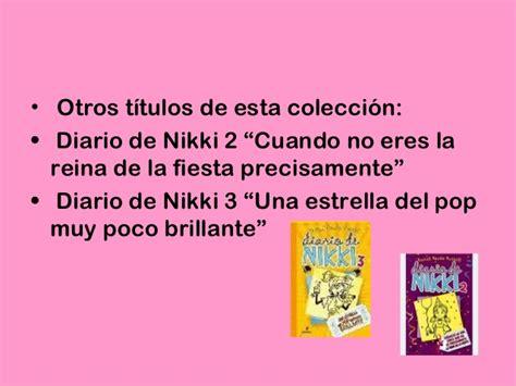 diario de nikki una 8427209711 alba diario de nikki
