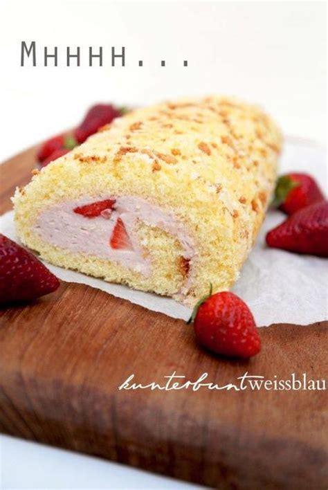 Ich Kann Nicht Backen by Erdbeer Biskuitrolle Die Auch Zum Muttertag Backen