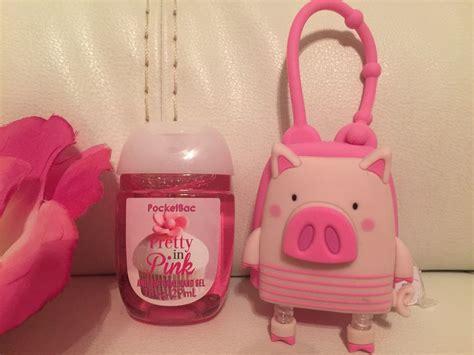 Sanitiser Gel Pocket Holder bath works pink pig pocketbac holder pretty in