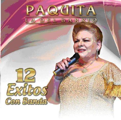 Cd Paquita paquita la barrio cd covers