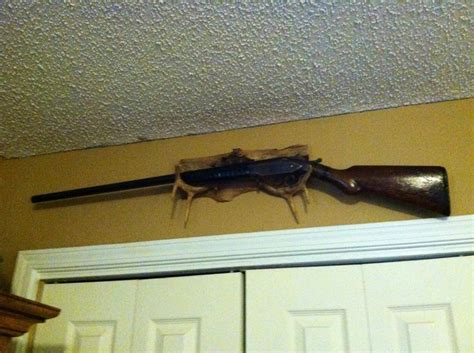 antler gun rack rustic guns gun racks and