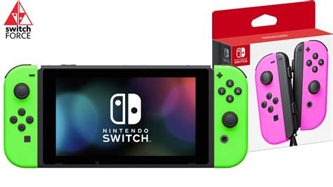 nintendo color new switch joycon colors is nintendo going neon