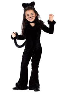 black cat halloween costumes toddler playful kitty costume