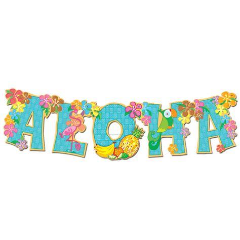 printable aloha banner aloha clip art cliparts co