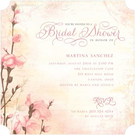 protocol for sending out bridal shower invitations bridal shower invitation etiquette