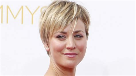 pennys new hairstyle big bang theory star kaley cuoco sweeting i had no