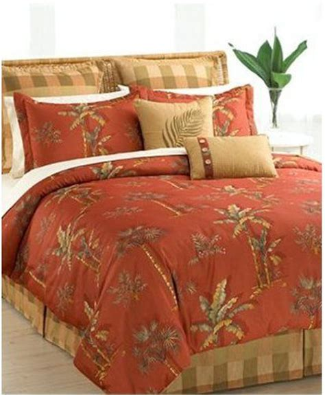 beach comforter sets king hallmart collectibles king spiced spice palm tree beach