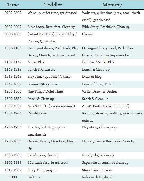 25 unique schedule ideas on working