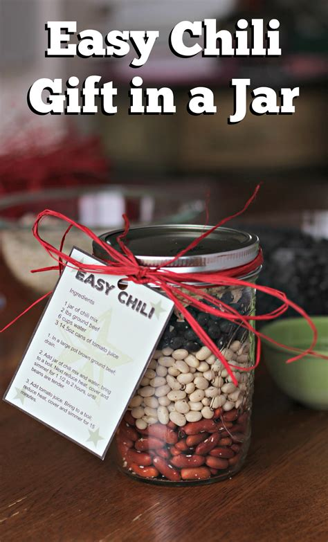 Where Can I Use A Chili S Gift Card - sweet and savory gifts in jars living a sunshine life