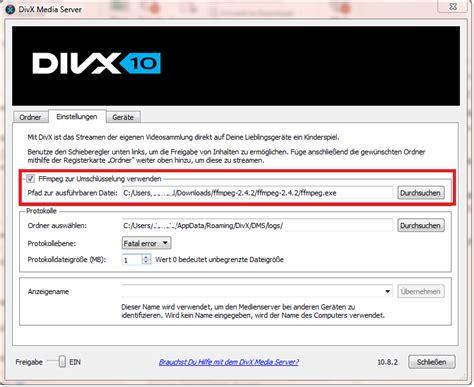 wie stream ich zu einem chromecast verbundenen geraet vom divx player divx