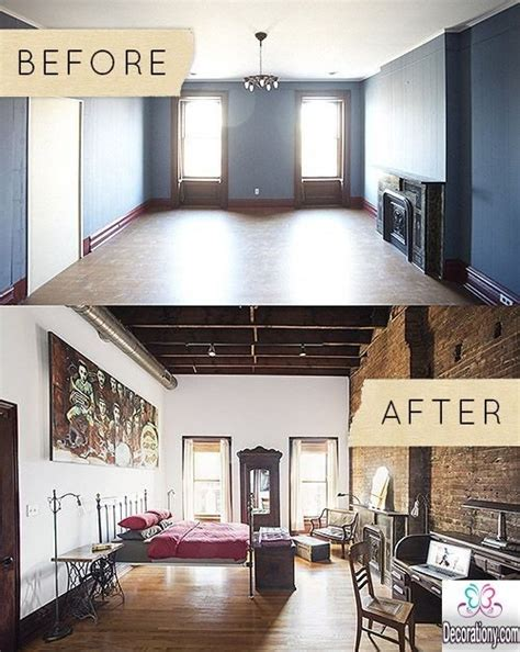 Bedroom Makeover Ideas inspirational bedroom makeover before and after ideas