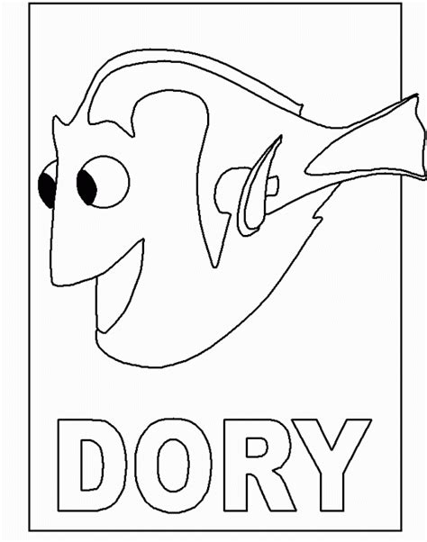 Finding Nemo Coloring Pages Free finding nemo coloring pages coloringpages1001