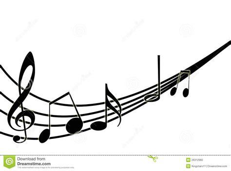 google imagenes con notas musicales notas musicales sobre blanco ilustraci 243 n del vector foto