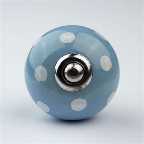 blue white navy ceramic door knobs handles furniture